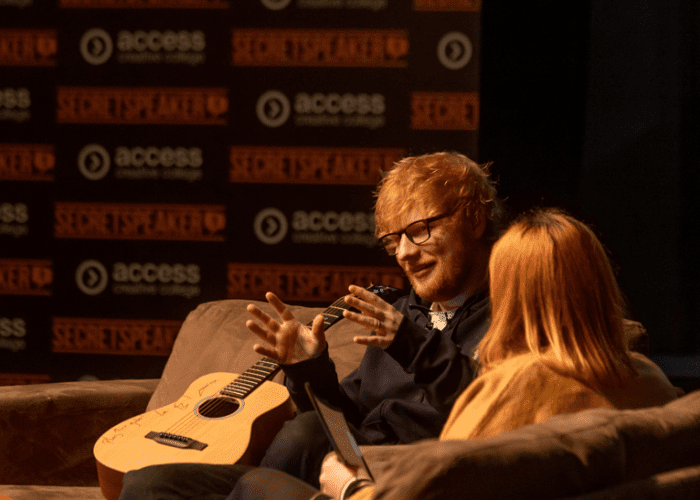 Ed Sheeran Secret Speaker Ed Sheeran